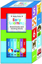 Early Learning: Board Books and Stacking Blocks (Early Learning Box Set), , New