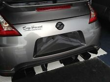 370Z 09-16 CARBON FIBER REAR LICENSE PLATE BACKING