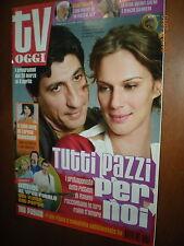 Tv Oggi.EMILIO SOLFRIZZI & ANTONIA LISKOVA,LORENA BIANCHETTI,UN POSTO AL SOLE,yy