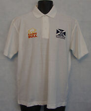 """Mens Polo Shirts Scotland Raging Bull Short Sleeved Polo Size 44"""" Chest #3433"""