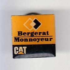 RARE PINS PIN'S .. AGRICULTURE BTP TRACTEUR TRACTOR CAT CATERPILLAR BERGERAT ~BF