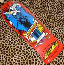 SANTA CRUZ Jeff Grosso Demon Planche Skateboard 25.4cmx76.5cm Rouge Old School