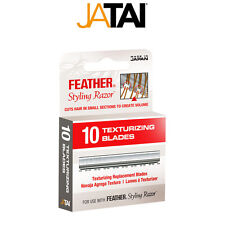 JATAI Barber Salon Feather Texturizing Replacement Blades 10 Blades SR-F120106