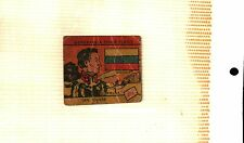 R58 WS Corp, Generals & Their Flags, 1939, #426 General Bolivar, Venezuela