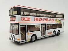"Corgi OOC 43223 KMB Volvo Olympian ""Friends of KMB"" Hong Kong double decker bus"