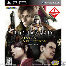 Used PS3 Biohazard Resident Evil 4 HD Revival Selection F/S Japan import