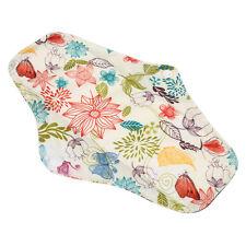 Size M Charcoal Bamboo Washable Cloth Cotton Menstrual Pad Mama Sanitary Towel
