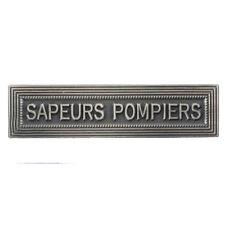 Agrafe pour médaille Ordonnance SAPEURS POMPIERS .