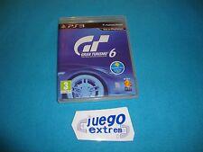 Gran Turismo 6 PAL Español Playstation 3 PS3 Completo como Nuevo
