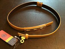 Tory Burch Hope Belt MSRP $225 XS Goldenrod New With Tags