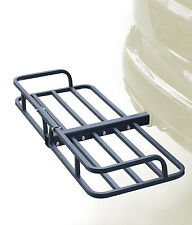 """48"""" Hitch Mount Cargo Carrier Rack Cargo Basket-500lb Capacity Luggage, Camping"""
