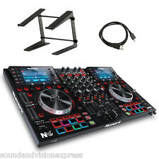 Numark nv ii pro midi usb manette MP3 + 4-channel mixer + serato dj + support