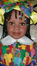"""33"""" VINYL DOLL SHOSHANNA BY BRUNO ROSSELLINI FOR THE GREAT AMERICAN DOLL  CO."""