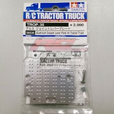 Tamiya 56535 1/14 RC Tractor Truck Aluminum Coupler Level Plate Hop Up Parts
