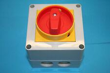 Motorschalter Lovato GX 2010P25, 25A, 3pol. bis 11KW, IP65, 000989,Trennschalter