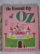 A Little Golden Book: THE EMERALD CITY of OZ (1952) Vintage Book, A edition #151