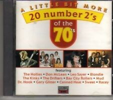 (BV362) A Little Bit More - 20 Number 2's Of The 70's - 1993 CD