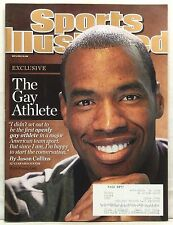SPORTS ILLUSTRATED MAGAZINE JASON COLLINS FIRST GAY ATHLETE NBA MAY 6 2013