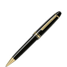 MONTBLANC MEISTERSTUCK LEGRANDE BALLPOINT PEN BLACK & GOLD  NEW IN BOX 161