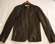 DØMA/DOMA Genuine lamb leather Motorcycle Jacket Size M
