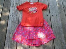 La Compagnie Des Petits ~ Girls Fall Floral Outfit ~ Size 6