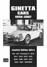 Limited Edition Ultra: Ginetta Cars, 1958-2007 by R. M. Clarke (2008,...