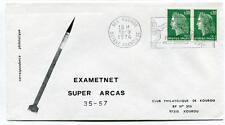 1974 Exametnet Super Arcas 35/57 Kourou Guyane Francaise Ville Spatiale SPACE