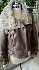 NWT MARC New York by Andrew Marc Faux Fur Jacket Taupe Size M