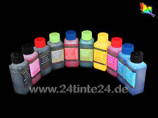 10 250ml Tinte Ink für Canon Pro 9500 Mark II PGI 9 PGI-2 PGI-9 PC PM G R GY MBK