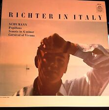 Richter In Italy~Schumann~Papillons~Angel Records 36104~FAST SHIPPING NM