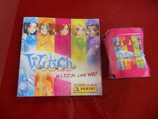 WITCH W.I.T.C.H.like we stickers ALBUM+50 bustine packet PANINI pochette tuten