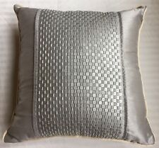 """New JLO JENNIFER LOPEZ """"CHATEAU"""" Bedding Collection 16""""x16"""" Sequin Throw Pillow"""