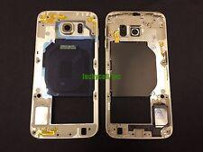 Gold Samsung Galaxy S6 G920F G920V G920T G920P G920A Housing Bezel Middle Frame