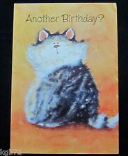 Leanin Tree Birthday Cat Cats Humor Greeting Card Multi Color R142