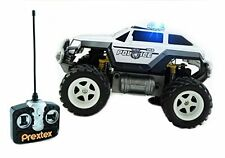 Prextex Remote Control Monster Police Truck police Car with Light toys for boys