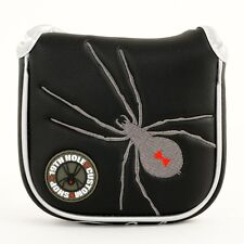 Black Spider High-MOI Mallet Putter Head Cover for TaylorMade Daddy Long Legs