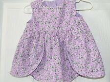 Girls Boutique Purple Floral Easter Dress Bloomers Bonnet NB 3m 6m Take Me Home