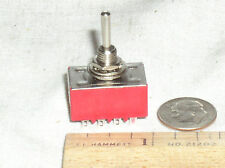 1 NEW MINI TRAIN TOGGLE 4PDT 4P2T ON-ON ON-OFF 4 POLE SWITCH 125V 6 6A AMP USA