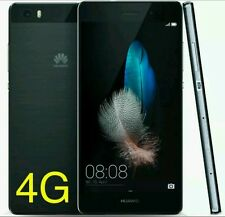 "New Huawei P8 Lite Black 4G LTE Sim Free  5"" Unlocked  16GB (New Sealed) 13MP"