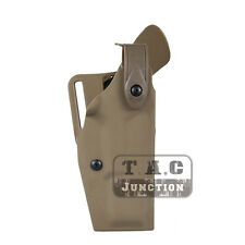 Tactical 6320 Retention Automatic Locking Duty Pistol Holster for Glock 17 22