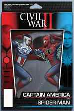 CIVIL WAR II AMAZING SPIDERMAN 1 JT CHRISTOPHER ACTION FIGURE VARIANT PRE-SALE