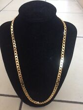 "22"" Never Fade Gold Color 18KGP Collar Necklace SG608,  Christmas Birthday Gift"