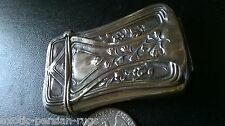 BEAUTIFUL ANTIQUE STERLING SILVER MATCH SAFE VESTA CASE