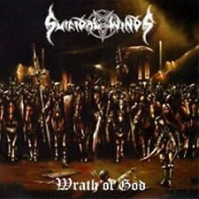 Suicidal Winds - Wrath of God CD Black Thrash Metal Sweden