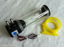 500L/H 10W DC 12V Water Cooling DC Pump Tank 250ML F CPU CO2 Laser Water Cooled