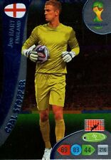 ADRENALYN WORLD CUP 2014 Brasil HART ENGLAND GOAL STOPPER