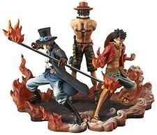ONe Piece DXF BROTHERHOOD II figure Anime Banpresto Luffy&Sabo&Ace 3 set Genuine