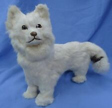 "12"" ANTIQUE GERMAN SPITZ SAMOYED DOG CANDY CONTAINER FRENCH FASHION DOLL"