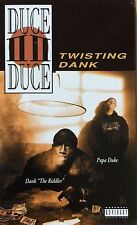 Duce Duce - Twisting Dank Cassingle 1995 PROMO Ultra Rare G Rap Cali Tape