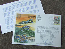 ESCAPE in a HEINKEL 1979  NL Hand Signed RAF Escaping Society FDC - SEE PICTURES